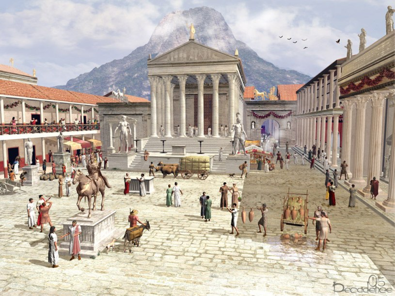 http://arqueoblog.com/ Las ciudades de Pompeya y Herculano vueltas de nuevo a la vida